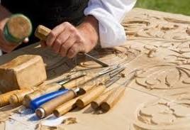 sclpture bois