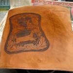 teinture cuir