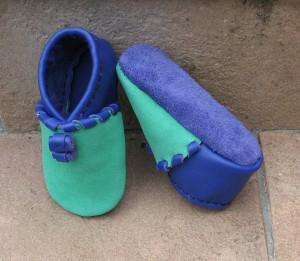 atelier cuir-chaussons bébé